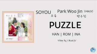 (Sub Indo) PUZZLE - SOYOU, Park Woojin (AB6IX) (소유 박우진) | Mr. Queen OST Part 4 | [HAN | ROM | INA]