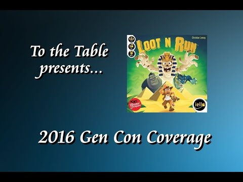 To the Table - 2016 Gen Con Overview