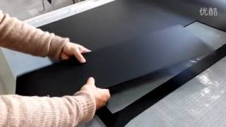 PP corrugated plastic cutting and creasing coroplast cutter machine