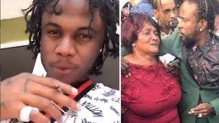 Masicka Attack The 6IXX , Squash, Rygin King   Popcaan HUG Shagel MOTHER At Funeral