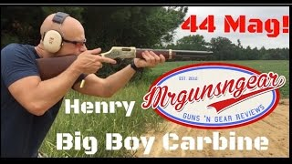 Henry Rifle Big Boy Carbine .44 Magnum Lever Action Rifle Review (HD)