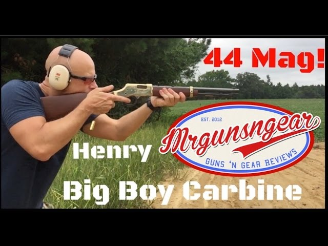 MrGunsNGear Reviews the Big Boy Carbine .44 Mag