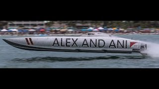 ALEXANDANI.COM Superboat OPA Racing Fall River pass 171 MPH GoPro