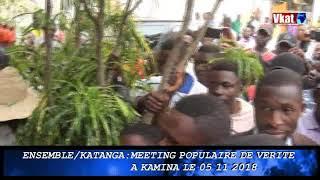 KYUNGU WA-KU-MWANZA RENFORCE LA PLATEFORME ENSEMBLE POUR LE CHANGEMENT DU HAUT-LOMAMI