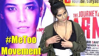 PoonamPandeysSH0CKINGREACTIONOnMetoo|#Metoomovement