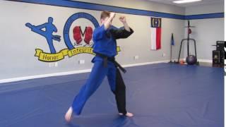 Sensei Cory - Reverse Crescent Kick