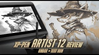 XP-Pen Artist 12 pen tablet review (Draw on the screen $250)