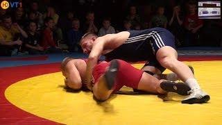 preview picture of video 'Thalheim (Dublinowski, R.) - Leipzig/Taucha (Graf, N.) 120kg Freistil (0:3 PS)'