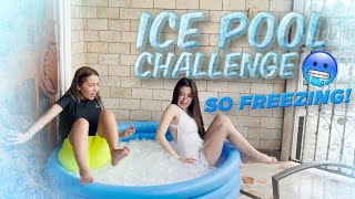 ICE POOL CHALLENGE BEFORE THE NEW YEAR!!! 🎉