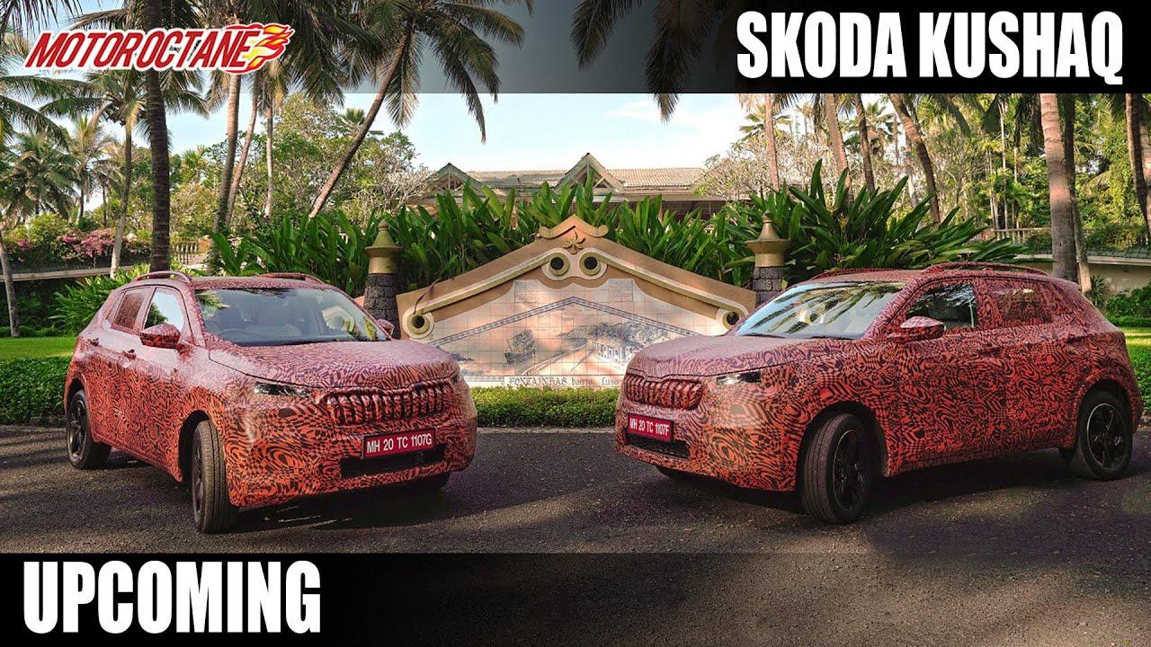 Motoroctane Youtube Video - Skoda Kushaq - Launch in March