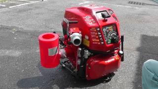 消防ポンプ洗浄及びメンテナンス・バケツ「RCホッパー」 取扱説明