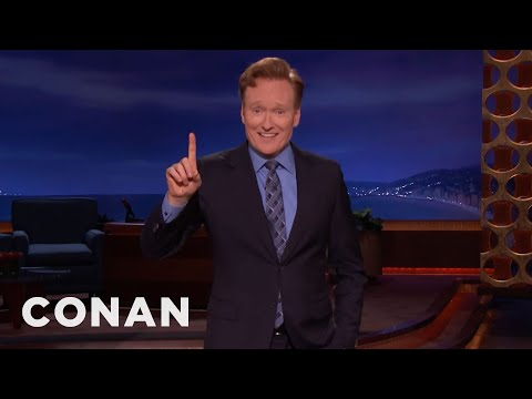 CONAN Monologue 04/26/17  - CONAN on TBS