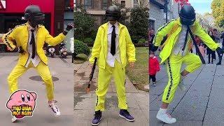 Tik Tok Trung Quốc - Khi CAO THỦ cosplay PUBG xuất chiêu với những điệu nhảy tik tok TRIỆU VIEW