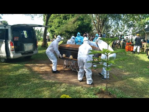 Sombre mood as Homa Bay nurse Marian Awuor is laid to rest