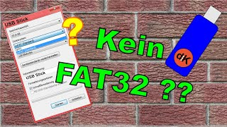 FAT32 formatieren kurz & knapp USB Stick & Festplatte HDD Win 10