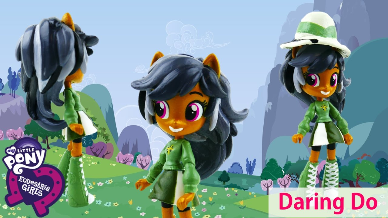 DIY My Little Pony Daring Do Dazzle Equestria Girls Minis Custom Doll | Evies Toy House