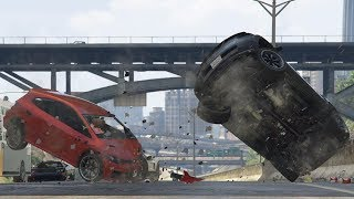 GTA 5 BRUTAL CAR CRASHES COMPILATION!!! #3