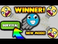DIEP.IO NEW SURVIVAL GAME MODE!😱 HOW TO WIN DIEP.IO SURVIVAL GAME MODE! DIEP.IO LAST MAN STANDING!