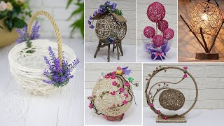 10 Jute Craft Ideas With Balloon | Home Decorating Ideas Handmade Easy