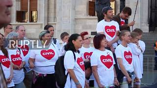 Hungary: Protesters rally against planned restrictive measures on NGOs