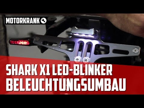 Umbau Motorrad Beleuchtung - LED Blinker, Rück- Bremslicht Kombi, Tagfahrleuchten // Yamaha XJ550