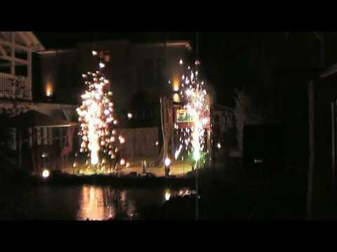 Kleines Barockfeuerwerk Silvester 09/10 Ostseehotel Baabe auf Rügen