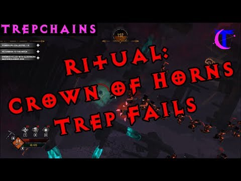 Ritual: Crown of Horns - Pre-Early Access - Initial gameplay - watch Trep fail!