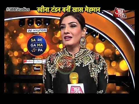 Raveena Tandon As Chief Guest At Saregamapa Lil Ch