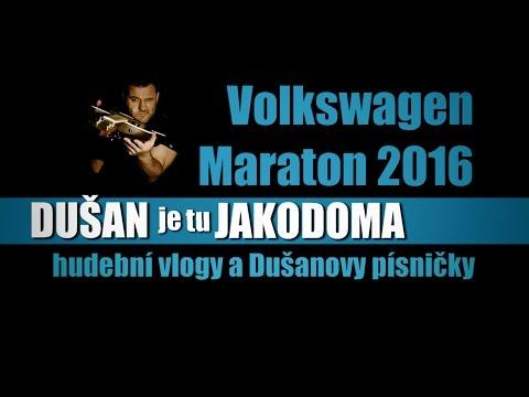 DUŠAN je tu JAKODOMA - 4hod a 32min hrál nonstop na Maraton Praha 2016 muzikant DUŠAN j