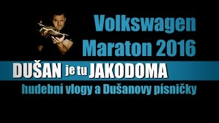 Video 4hod a 32min hrál nonstop na Maraton Praha 2016 muzikant DUŠAN j