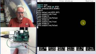 Raspberry Pi Linux LESSON 26: Controlling The Raspberry Pi GPIO Pins From Python