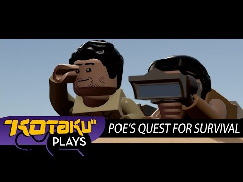 LEGO Star Wars' Lame Explanation Of How Poe Survived Crashing On Jakku