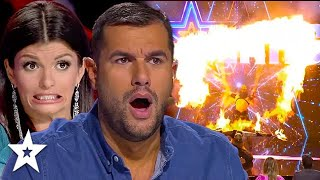 DANGEROUS AUDITIONS Around the World SHOCK Judges | Got Talent Global