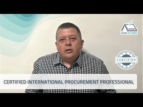 Live Virtual Training-Certified International Procurement ... - YouTube