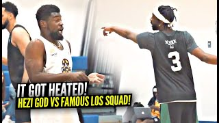 """""""Stop Grabbing Me My Girlfriend Is RIGHT THERE!"""" Hezi God vs Famous Los Squad Got HEATED!!"""