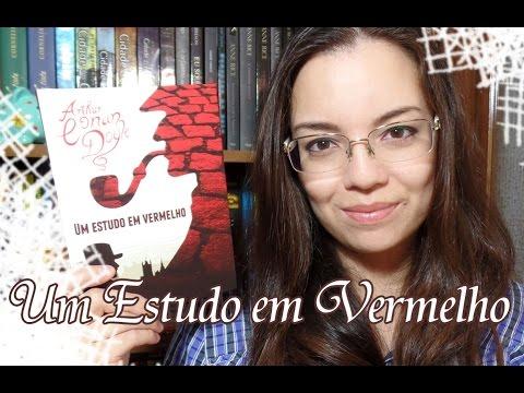 Livro - Um Estudo em Vermelho (Arthur Conan Doyle)