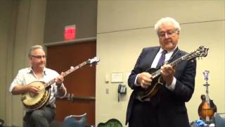 """Big Country"" - Tony Williamson's Vintage Instrument Tasting, 2015 IBMA"