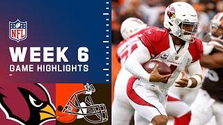 Cardinals vs. Browns Week 6 Highlights   NFL 2021