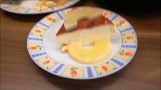 KäsekuchenAuflauf  aus der Princess Heißluftfriteuse