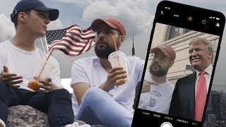 Les Missions d'Hakim : Faire un selfie avec Donald Trump Épisode 1