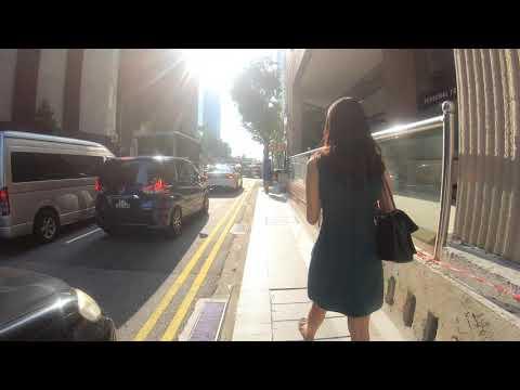191104 GoPro Timelapse Singapore CBD Morning Walk  (Telok Ayer to Tanjong Pagar)