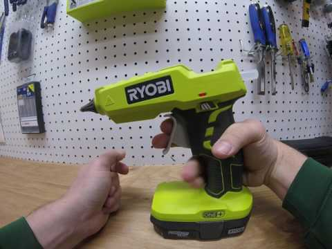 Ryobi Hot Glue Gun Review