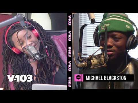Michael Blackson Previews BET Social Awards! With Ramona Debreaux
