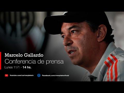 Marcelo Gallardo en conferencia de prensa [11/01/2021 - EN VIVO]
