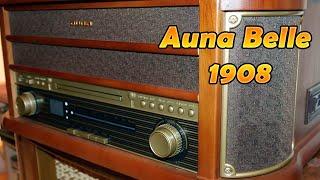 Auna Belle Epoque 1908 | nostalgische Musikanlage [Deutsch] 4K