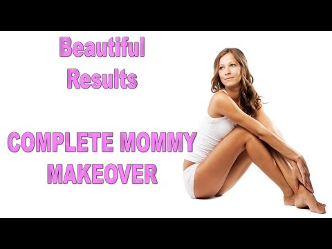 Mommy-Makeover-Plastic-Surgery-Tummy-Tuck-and-Breast-Implants-Mexico