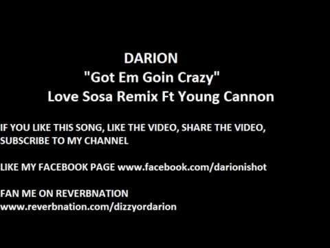 "Love Sosa Remix Underground Rapper ""Darion"" Got Them Going Crazy Ft YG CANNON"
