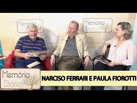 São Caetano em revista com Narciso Ferrari e Paula Fiorotti