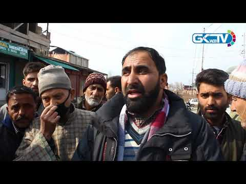 Protest in Bandipora against delayed shifting of district hospital