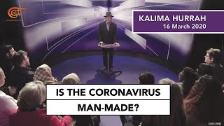 YouTube video E-card Tune in to George Galloway for Kalima Horra on Al Mayadeen TV discussing the Coronavirus crisis